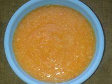 Zupka paprykowo-dyniowa z indykiem