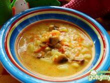 Zupka pieczarkowa z ziemniakami
