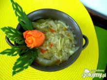 Zupka podwójnie kapuściana na sylwetkę