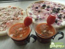 Zupka pomidorowa do popijania.