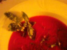 Zupka pomidorowa z bazylią