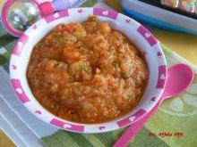 Zupka pomidorowa z ziemniakami dla dzieci