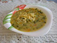 Zupka serowo warzywna