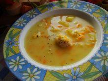 Zupka z kaszą jaglaną