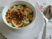 Zupka z naleśników i kurek- Roxi