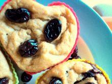 Żurawinowe maffinki bez tłuszczu i cukru