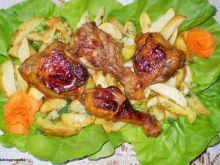 Żurawinowo-miodowy kurczak :