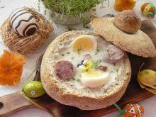 Żurek w chlebie mieszanym