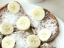 Żytnie racuchy z dodatkiem bananów