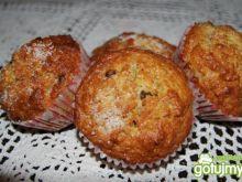 Żytnio-pszenne muffiny z bananem