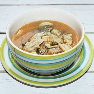 Zupa rybna z nototeni  - Proszę o to ona Zupa rybna . Pyszna rozgrzewająca z nutą imbiru. Dla każdego .