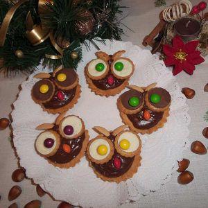 Babeczkowe sówki - Babeczkowe sówki-mój bożonarodzeniowy hit dla najmłodszych