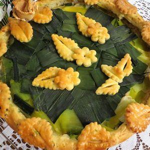 Ciasto wytrawne zielony torcik - Ciasta wytrawne można jeść na obiad i zabierać do pracy