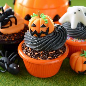 Dekoracyjne muffinki na Halloween