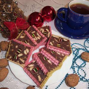 Domowy blok czekoladowy - Blok czekoladowy, bez którego nie wyobrażam sobie Bożego Narodzenia