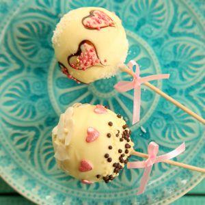 Walentynkowe cakepopsy