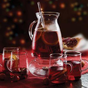 Nagroda główna - listopad - Zestaw szklany do grzanego wina