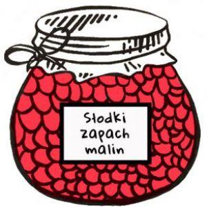 słodki zapach malin - logo
