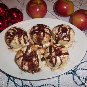 Waniliowo-cynamonowe wigilijne jabłuszka - Wigilijne jabłuszka-stary przepis mojej babci, smak świąt mojego dzieciństwa
