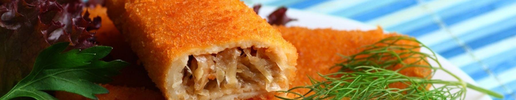 Potrawy postne nie muszą być nudne: krokiety z kapustą i grzybami