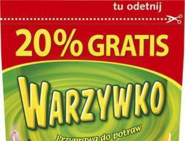 20% Warzywka gratis na Święta