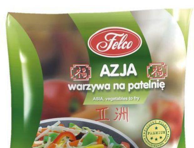Azjatyckie warzywa na patelnię