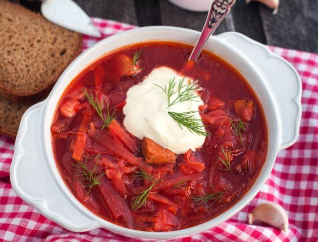 Barszcz ukraiński i sałatka coleslaw w kilka minut?