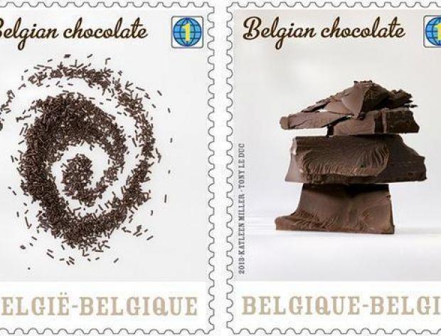 Belgia ma znaczki pocztowe o smaku czekoladowym!