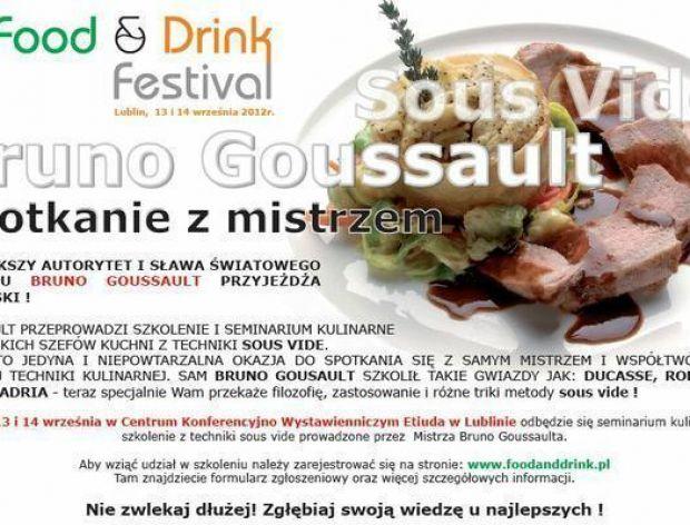 Bruno Goussault - mistrz sous vide w Polsce!