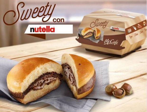 Burger z Nutellą w McDonaldzie!