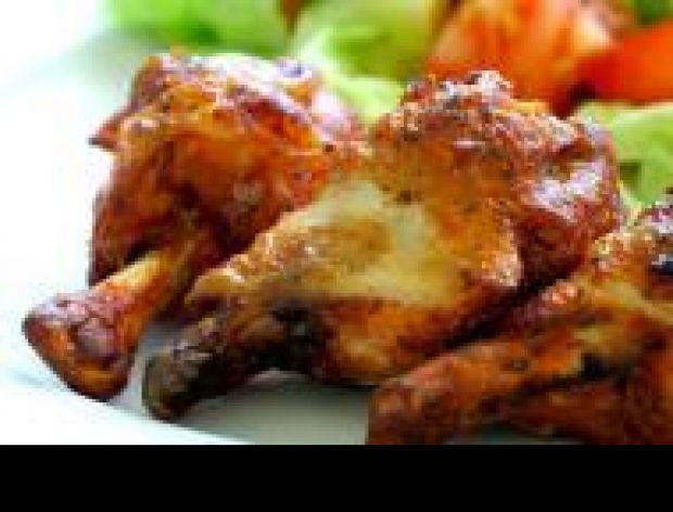 Chrupiąca skórka z kurczaka