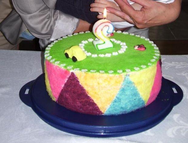 Dekoracja tortu.