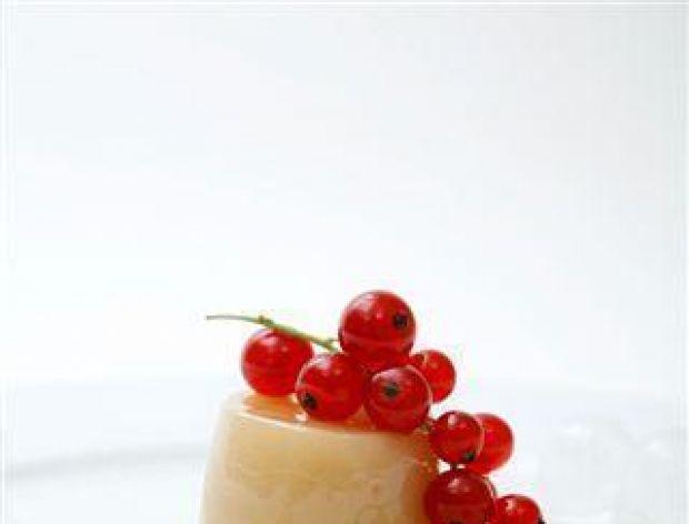 Deser z soku winogronowego
