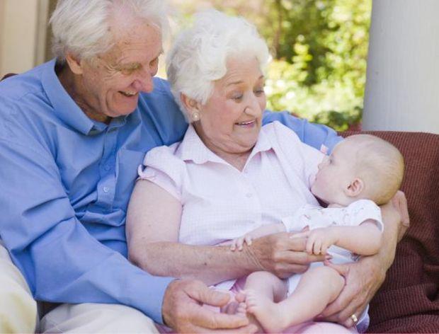 Dziadkowi dziś wnuki życzenia składają