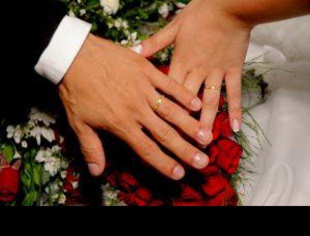 Dziś w Dniu Ślubu moi mili życzę...