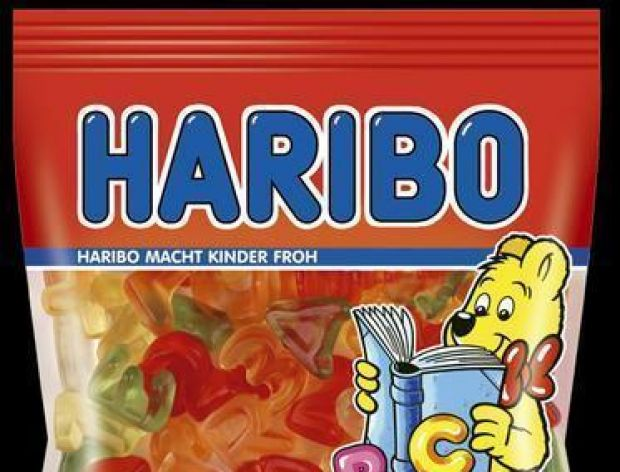 Edukacyjne żelki Haribo Misiowe ABC