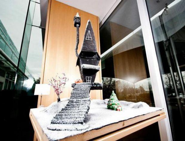 Fantazyjne piernikowe rzeźby z Kanady