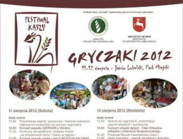 """Festiwal Kaszy i Żurawiny """"Gryczaki 2012"""""""