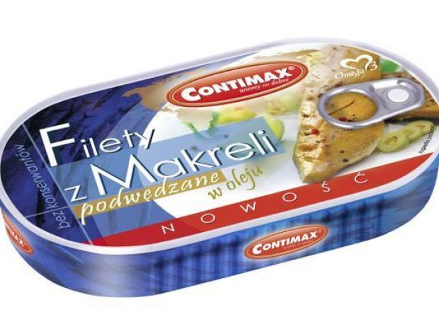 Filety z makreli podwędzane