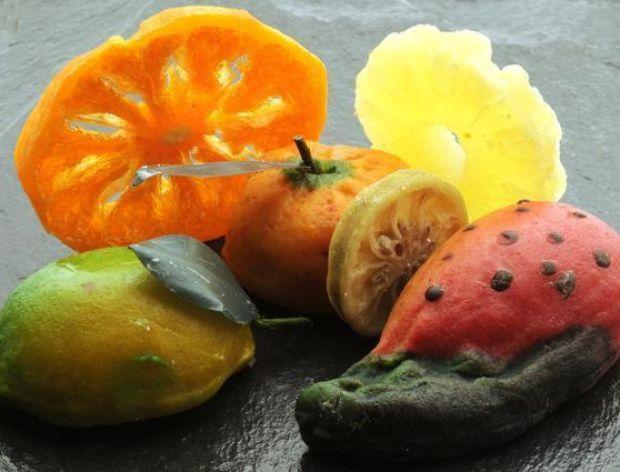 Frutti di Martorana, czyli marcepanowe owoce