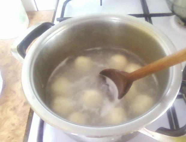 Gotując kluski i kluseczki