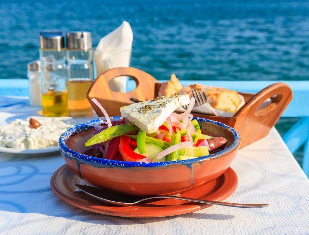 Grecka sałatka - oryginalny przepis