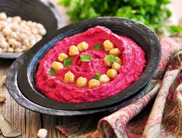 Hummus z buraka