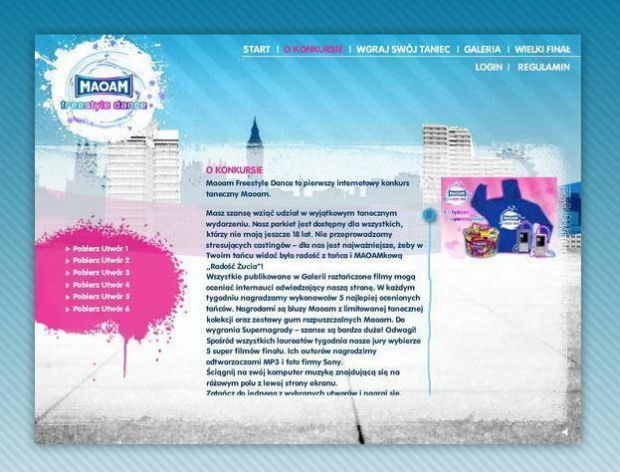 Interaktywny konkurs Maoam