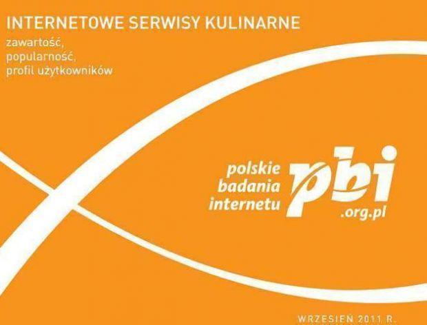 Internetowe serwisy kulinarne w PBI