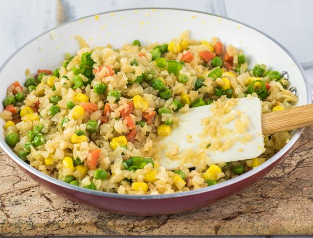 Jak zrobić smażony ryż z kalafiora?