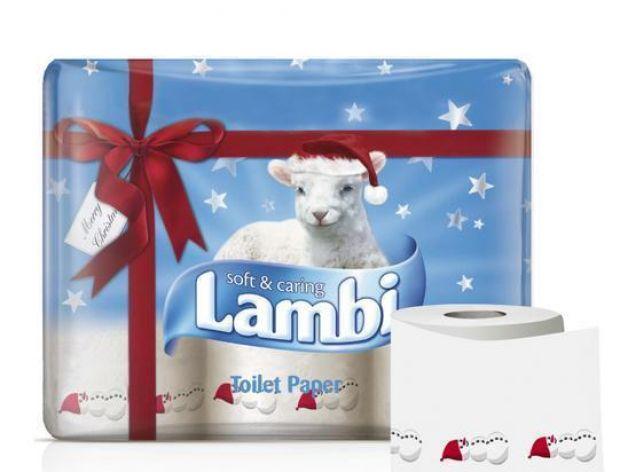 Jednorazowe ręczniki Lambi na Święta