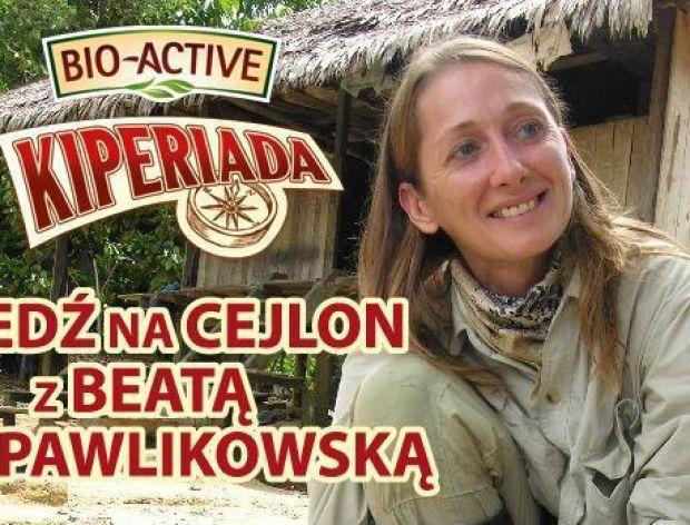 Jedź na Cejlon z Beatą Pawlikowską!