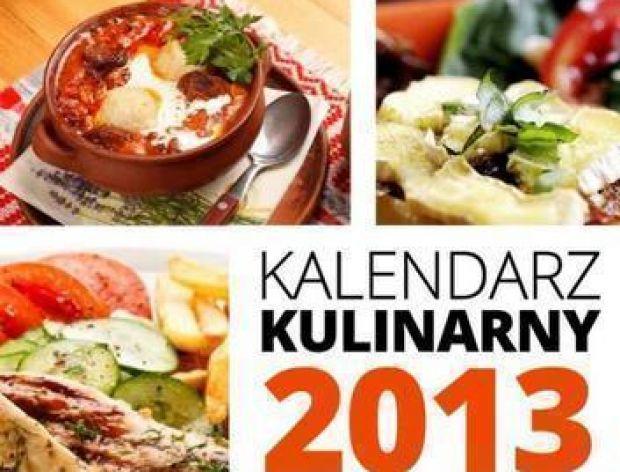 Kalendarz z przepisami na rok 2013!
