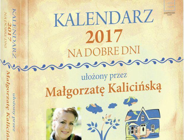 Zaplanuj 2017 rok z kalendarzem Małgorzaty Kalicińskiej